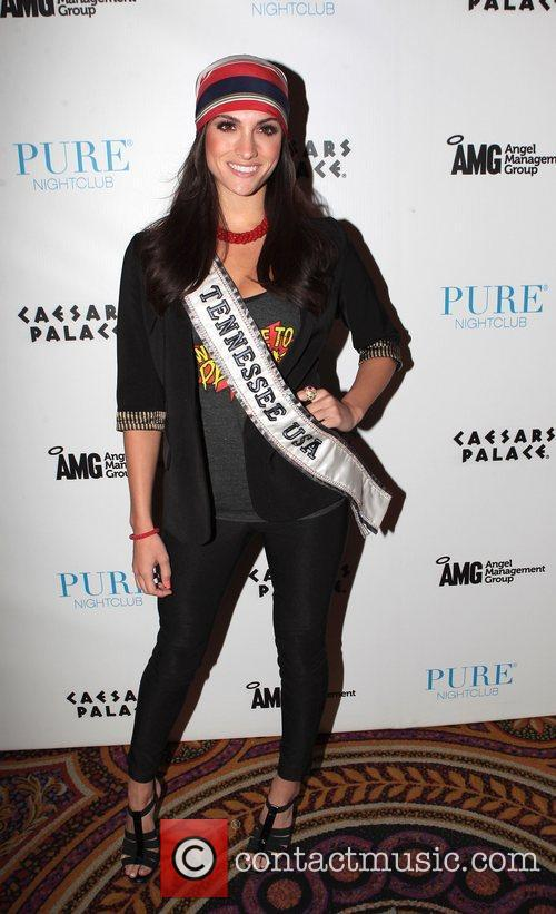 Miss Tennessee USA, Jessica Hibler  at Pure...