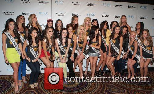 Miss USA contestants  at Pure Nightclub inside...