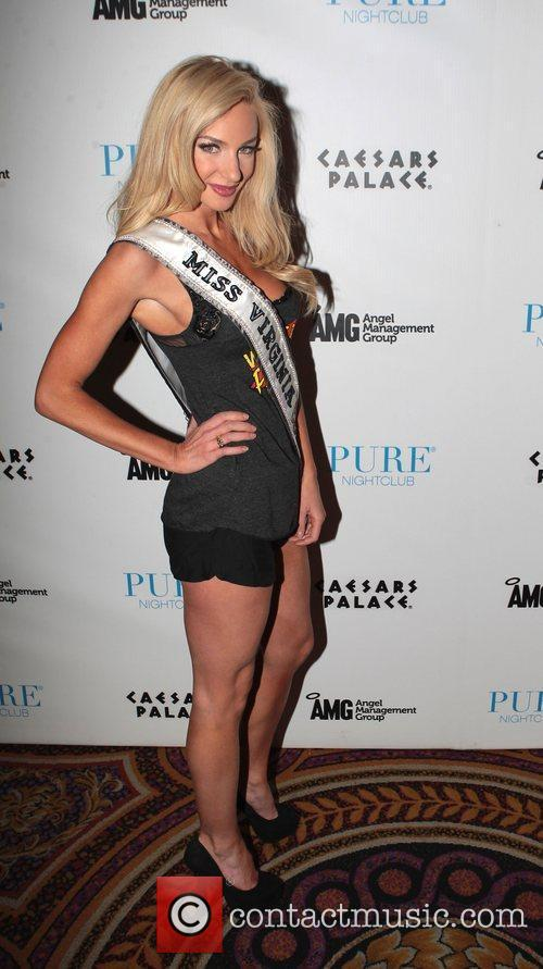 Miss Virginia USA, Catherine Muldoon  at Pure...