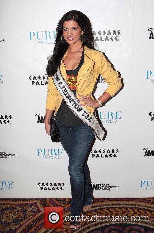 Miss Washington USA, Christina Clarke  at Pure...