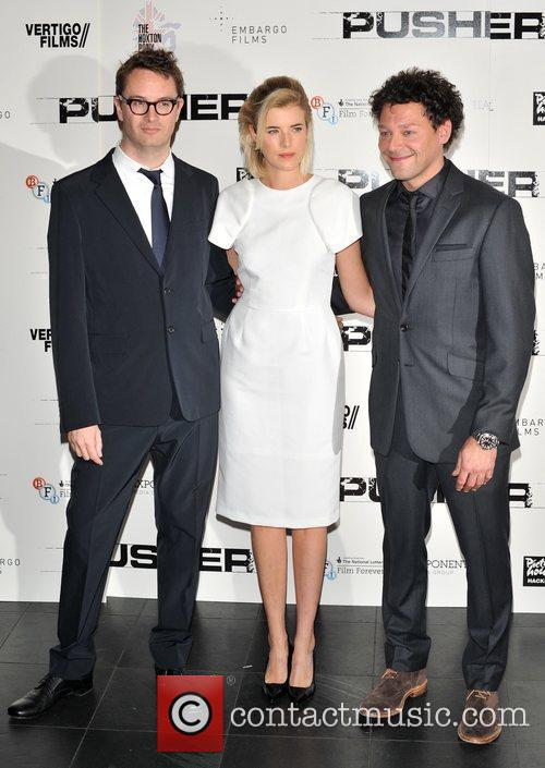 Nicolas Winding Refn, Agyness Deyn and Richard Coyle 1