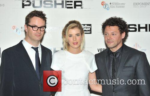 Nicolas Winding Refn, Agyness Deyn and Richard Coyle 2