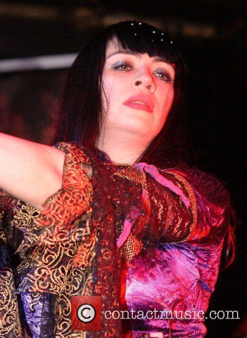 Emily Ovenden Pythia perform live at Underworld London,...