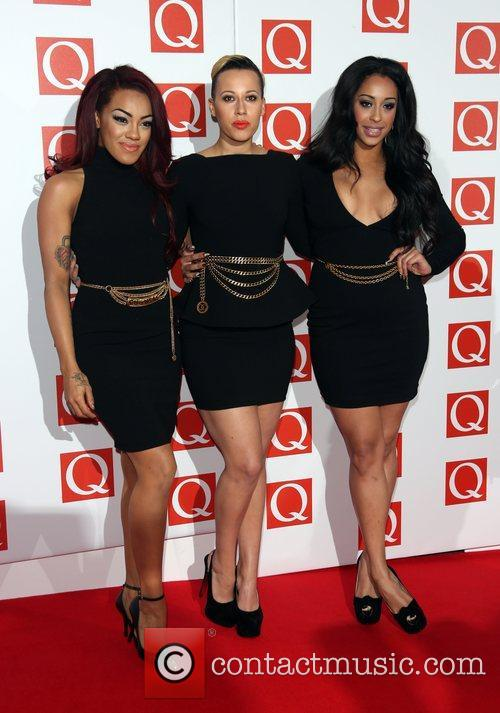 Karis Anderson, Courtney Rumbold and Alexandra Buggs of...