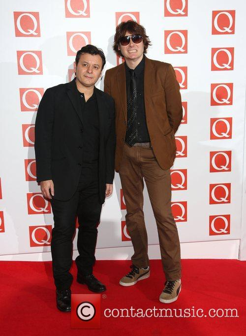 Nicky Wire, James Dean Bradfield and Manic Street Preachers