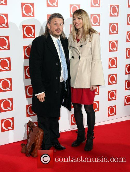 Richard Herring and Catie Wilkins The Q Awards...