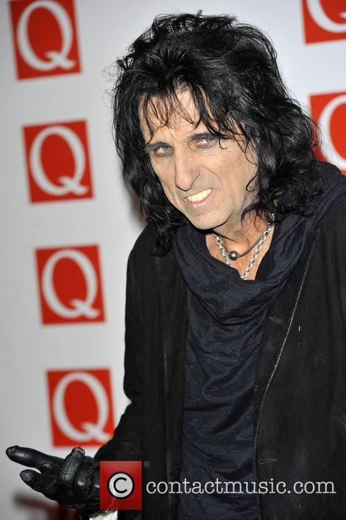 alice cooper the q awards held at 4138731