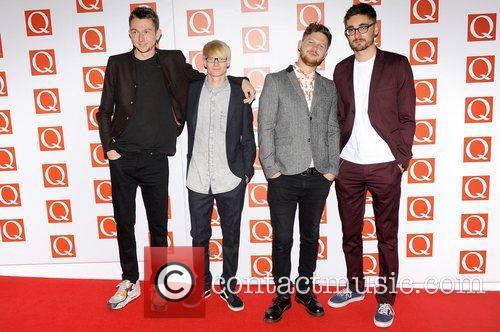 Alt-J The Q Awards held at the Grosvenor...
