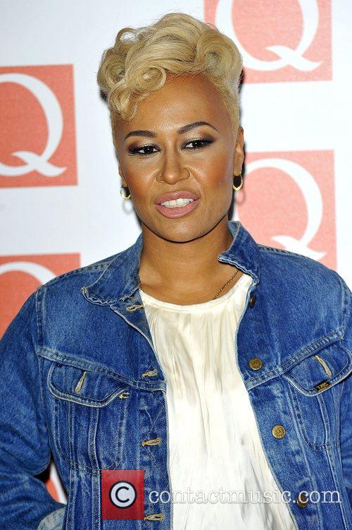 Emeli Sande The Q Awards held at the...