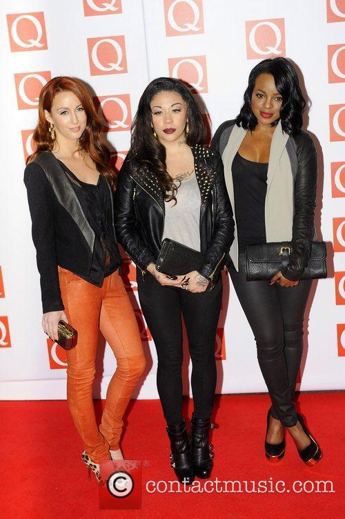 The Sugarbabes The Q Awards held at the...