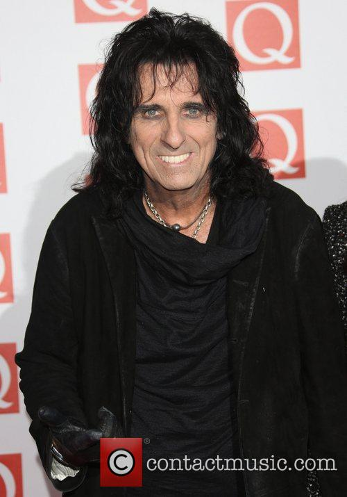 Alice Cooper The Q Awards 2012 held at...