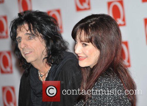 Alice Cooper and Sheryl Goddard The Q Awards...