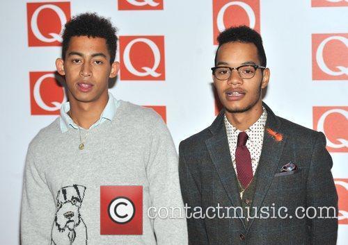 Rizzle Kicks The Q Awards held at the...