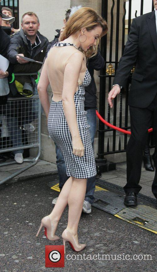 Kylie Minogue and Grosvenor House 9