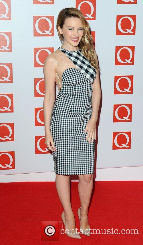 Kylie Minogue and The Q Awards 6