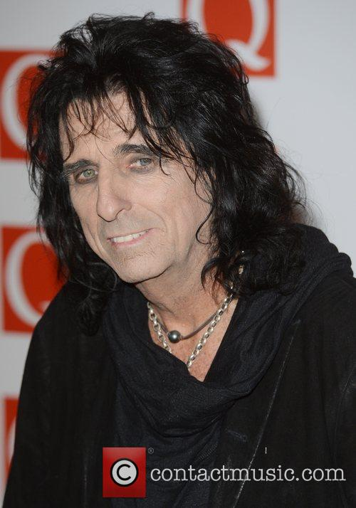 Alice Cooper, Q Awards, Grosvenor House, London and England 8