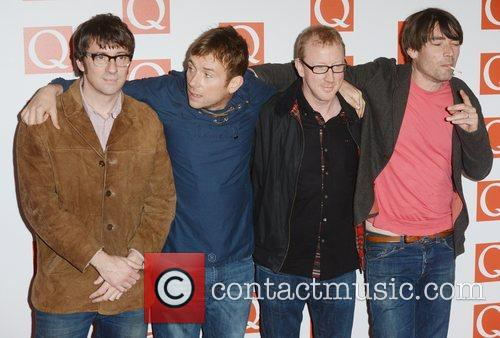Blur, Q Awards, Grosvenor House, London and England 4
