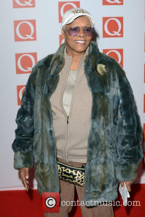 Dionne Warwick at Q Awards at Grosvenor House,...