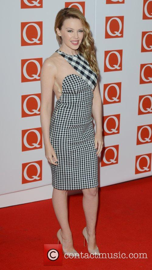 kylie minogue at q awards at grosvenor 4138542