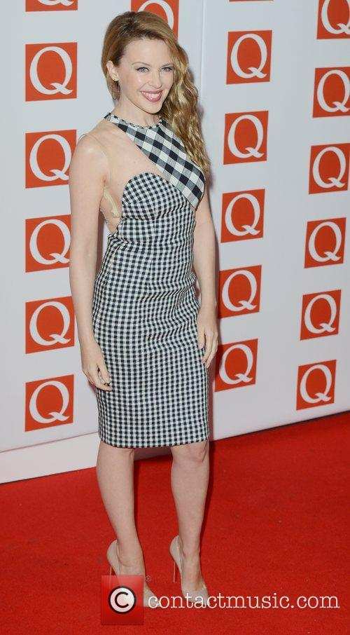 Kylie Minogue, Q Awards, Grosvenor House, London and England 3