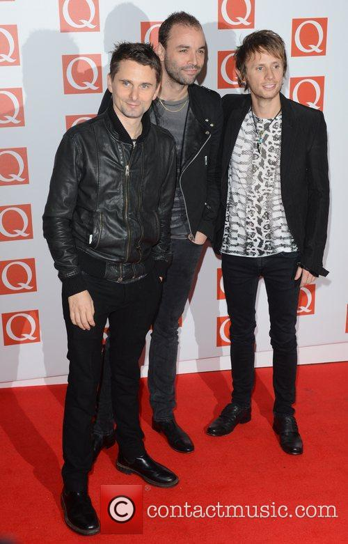 Muse, Q Awards, Grosvenor House, London and England 2