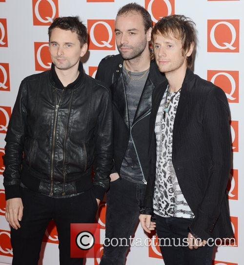 Muse, Q Awards, Grosvenor House, London and England 1