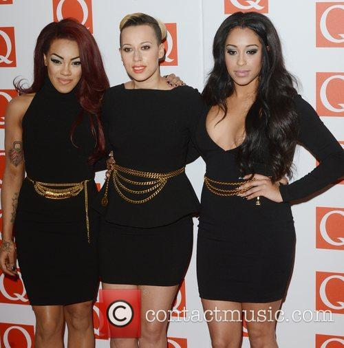 Stooshe, Q Awards, Grosvenor House, London and England 3