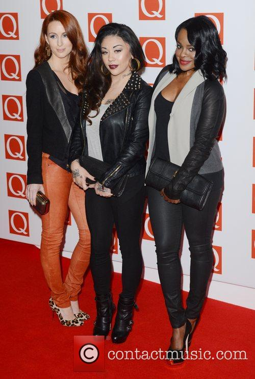 Sugababes, Q Awards, Grosvenor House, London and England 1