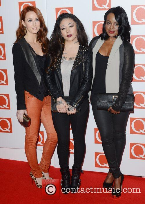 Sugababes, Q Awards, Grosvenor House, London and England 3