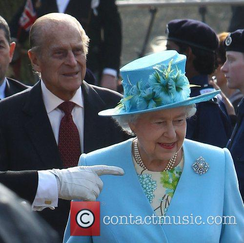 Queen Elizabeth II and Prince Philip, Duke of...