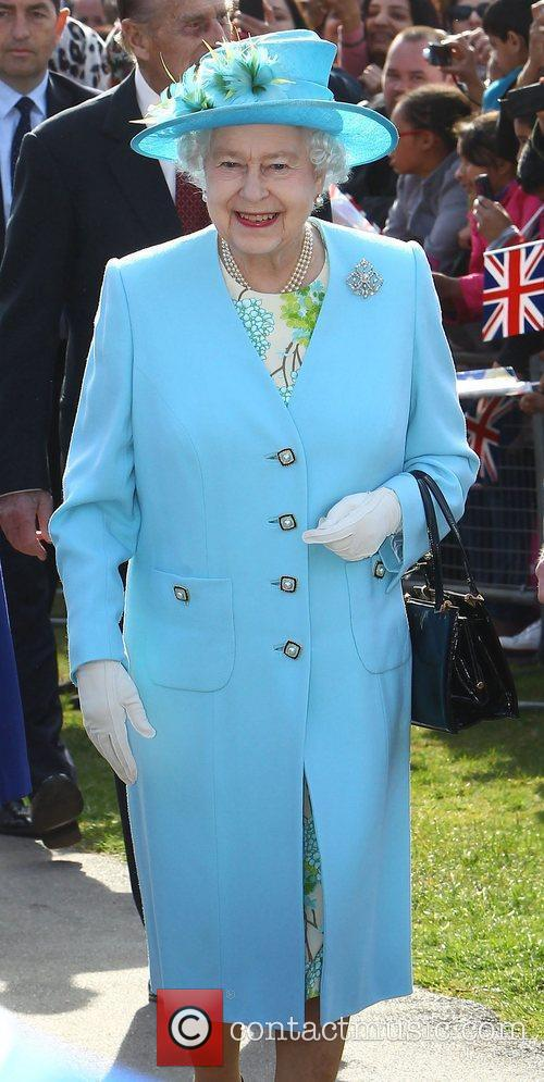 Queen Elizabeth II visits Redbridge during her Diamond...