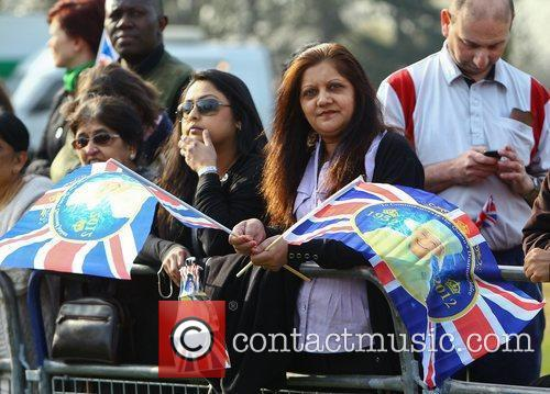 Atmosphere in Redbridge during the Queen's Diamond Jubilee...
