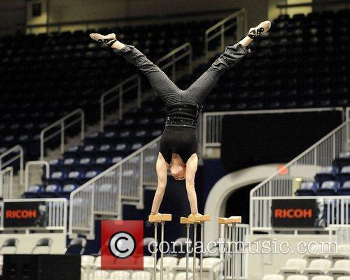 Banquine performer Anna Mokhova  Cirque du Soleil's...