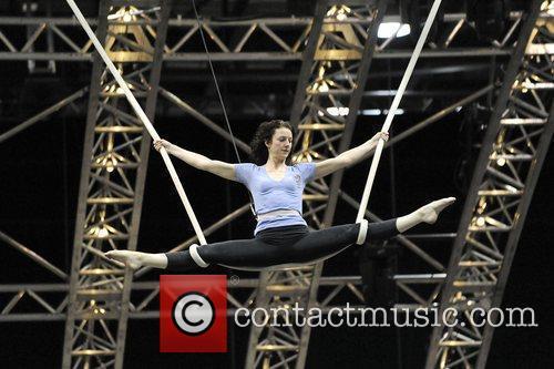 Cloud Swing performer Donna Maree Steven  Cirque...