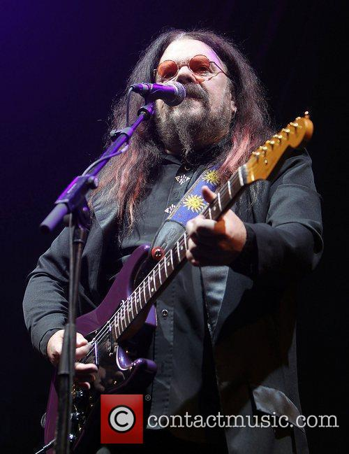 Roy Wood performing live on stage at QuoFestive...