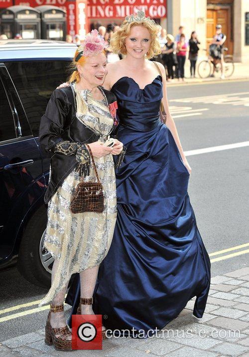 Lily Cole and Vivienne Westwood 4