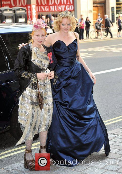 Lily Cole and Vivienne Westwood 5