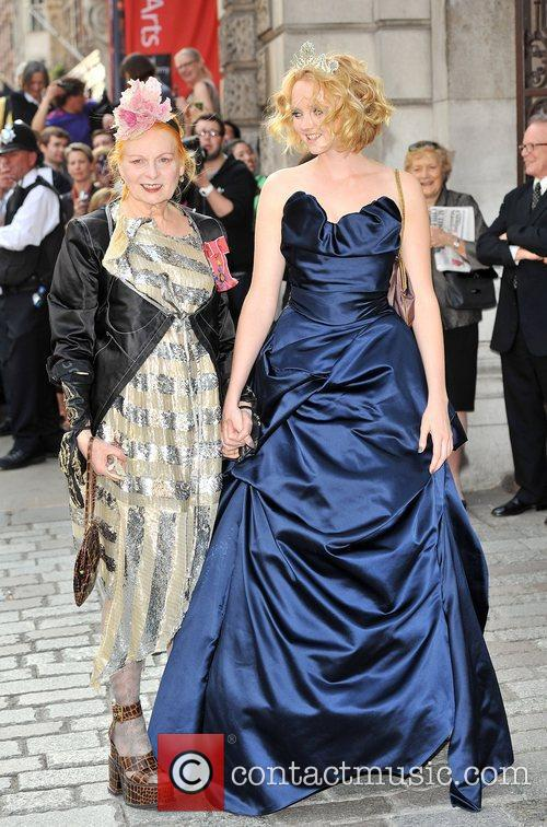 Lily Cole and Vivienne Westwood 6