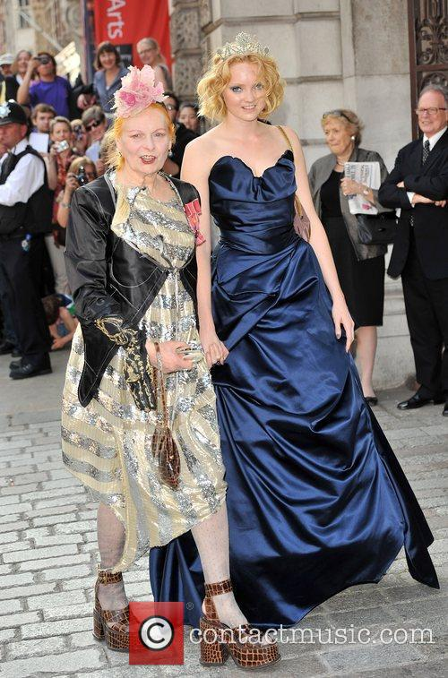 Lily Cole and Vivienne Westwood 7