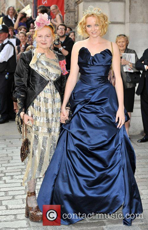 Lily Cole and Vivienne Westwood 8