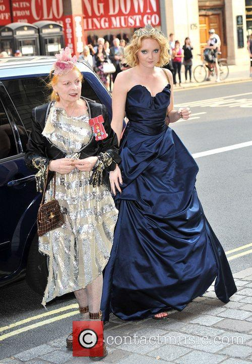 Lily Cole and Vivienne Westwood 9