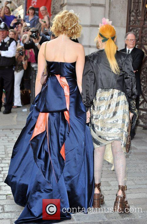 Lily Cole and Vivienne Westwood 1