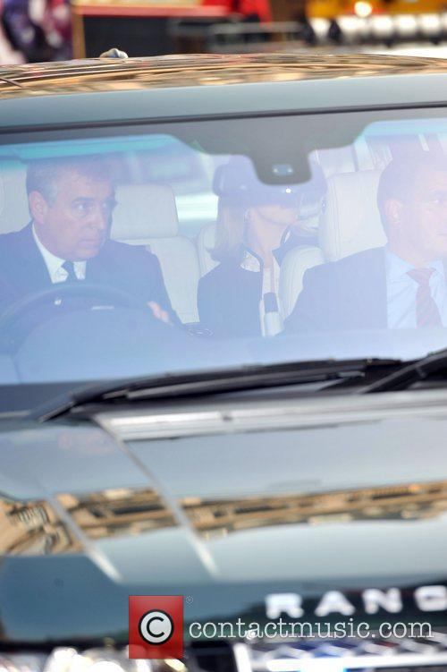 Prince Andrew (L) 'A Celebration of the Arts'...