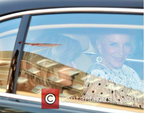 Princess Michael Of Kent and Rob Brydon 5