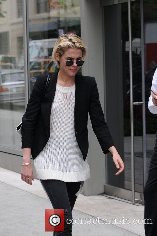 Returns to her SoHo hotel in Manhattan