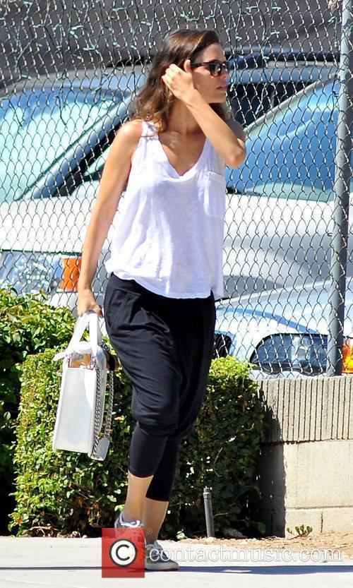 rachel bilson seen out and about holding 5881877