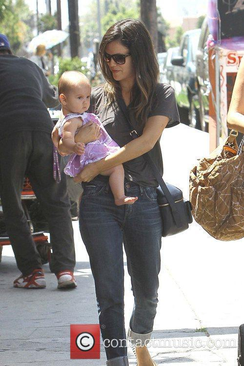 Rachel Bilson is seen out and about with...