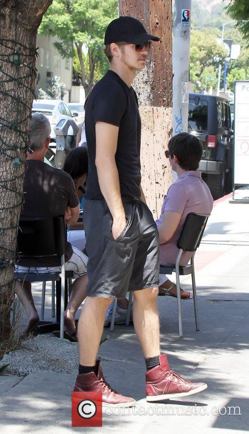 Hayden Christensen out and about in Los Feliz...