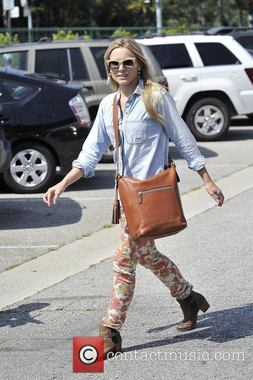 Kristen Bell  seen leaving a gifting suite...