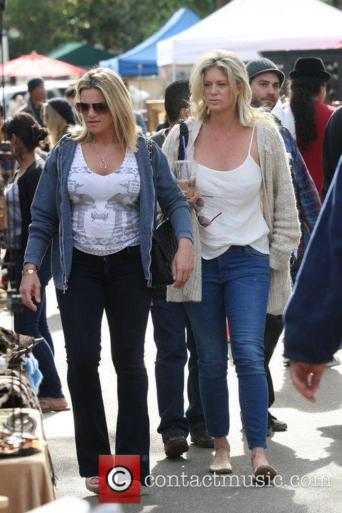 Rachel Hunter and Flea 8